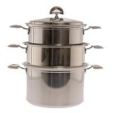 PERFECT CHEF Stockpot & Steamer - Steamer