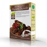 PESONA NUSANTARA Laziz Rendang Ayam Suwir 150gr [CGK010022004246] (Merchant) - Box & Kalengan Unggas