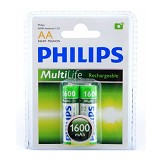 PHILIPS AA 1600mAh BP2 - Battery and Rechargeable