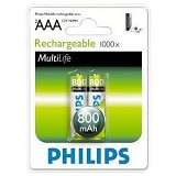 PHILIPS AAA 800mAh BP2 - Battery and Rechargeable