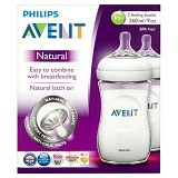 PHILIPS AVENT Botol Susu Natural 2Pcs (Merchant) - Botol Susu