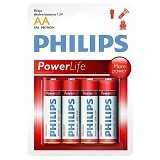 PHILIPS Alkaline AA BP4 - Battery and Rechargeable