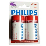 PHILIPS Alkaline D BP2 - Battery and Rechargeable