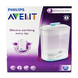 PHILIPS AVENT 2in1 Electric Sterilizer Essential - Penghangat, Pengering, dan Sterilizer Botol Susu