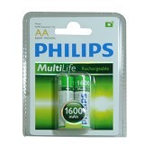 PHILIPS Rechargeable 2XAA 1600 mah (Merchant) - Battery and Rechargeable