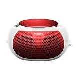 PHILIPS Boombox CD Radio [AZ-100R/12] - Red (Merchant) - Mini Compo