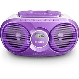 PHILIPS CD Soundmachine [AZ215V/12] - Violet - Mini Compo