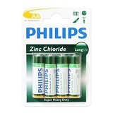 PHILIPS Carbonzinc AA BP4