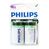 PHILIPS Carbonzinc D BP2 - Battery and Rechargeable