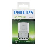 PHILIPS Charger Universal Only - Battery and Rechargeable