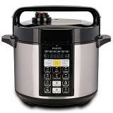 PHILIPS Electric Pressure Cooker [HD 2136] - Silver