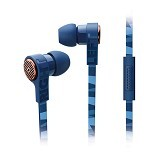 PHILIPS Headphone with Mic [SHE9055BL] - Earphone Ear Monitor / Iem