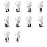 PHILIPS Lampu LED Cool Day Light 4-40W 10 Pcs - Lampu Bohlam / Bulb