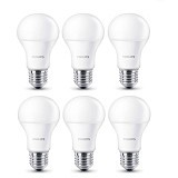 PHILIPS Lampu LED Cool Day Light 7-60W 6 Pcs - Lampu Bohlam / Bulb
