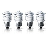 PHILIPS Lampu Tornado 12W Cool Daylight 4pcs - Lampu TL / Neon