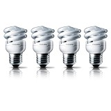 PHILIPS Lampu Tornado 8W Cool Daylight 4pcs - Lampu Tl / Neon
