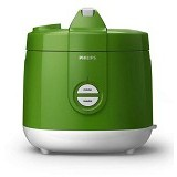 PHILIPS Magic Com Rice Cooker [HD 3127/32] - Green (Merchant) - Rice Cooker