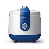 PHILIPS Rice Cooker [HD 3118/31] - Basic Blue - Rice Cooker