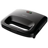 PHILIPS Sandwich Maker [HD 2393/92] - Black - Toaster