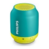 PHILIPS Wireless Speaker Rechargeable Battery [BT 50] - Aqua - Speaker Portable