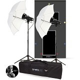 PHOTOBASICS Strobelite 2 Light Kit 240A - Studio Specialty Equipment