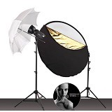 PHOTOBASICS Strobelite Studio Kit 220A - Studio Specialty Equipment
