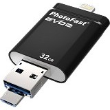 PHOTOFAST i-FlashDrive EVO Plus 32GB - Usb Flash Disk Dual Drive / Otg