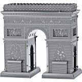 PICTURE KINGDOM Metal Puzzle 3D Arc De Triomphe (Merchant) - 3d Puzzle