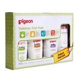 PIGEON Paket Hemat Toiletries Trial Pack [PP061107] - Sabun Mandi Bayi dan Anak