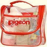 PIGEON Toiletries Backpack Set [PR061404] - Sabun Mandi Bayi dan Anak