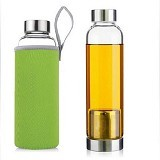 PIXEL99 Infuser Bottle 420ml - Green - Botol Minum