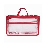PIXEL99 Transparent Container Bag - Red - Tas Tangan Wanita