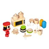 PLAN TOYS Acc. For Kitchen & Tableware [PT9406] - Mainan Masak Masakan / Kitchen Toys
