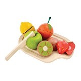 PLAN TOYS Assorted Fruit Set [PT3600] - Mainan Masak Masakan / Kitchen Toys