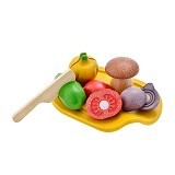 PLAN TOYS Assorted Vegetable Set [PT3601] - Mainan Masak Masakan / Kitchen Toys