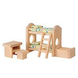 PLAN TOYS Children Bedroom Classic [PT9502] - Mainan Simulasi