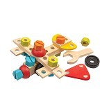 PLAN TOYS Construction Set [PT5539] - Learning and Growing