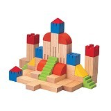 PLAN TOYS Creative Blocks [PT5527] - Learning and Growing