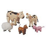 PLAN TOYS Farm Animal [PT7135] - Mainan Simulasi