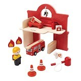 PLAN TOYS Fire Station [PT6619]