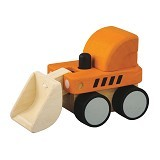 PLAN TOYS Mini Bulldozer [PT6317] - Mainan Simulasi