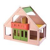 PLAN TOYS My First Dollhouse [PT7601] - Rumah Boneka