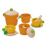 PLAN TOYS Tea Set [PT3604] - Mainan Masak Masakan / Kitchen Toys