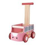 PLAN TOYS Van Walker [PT5185] - Pink - Baby Walker