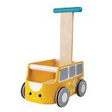 PLAN TOYS Van Walker [PT5184] - Yellow - Baby Walker