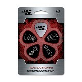 PLANET WAVES Pick Gitar Joe Satriani Chrome Dome [JSCD-01] - Gitar Pick