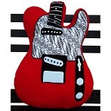 PLATPE Bantal Telecaster - Red - Bantal Dekorasi