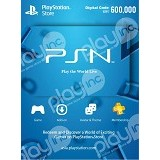PLAYSTATION NETWORK VOUCHER IDR 600.000 (Merchant) - Tiket & Voucher