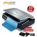 PLUSTEK OpticBook A300 - Scanner Flatbed