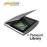 PLUSTEK OpticSlim 550 + Passport Library - Scanner Flatbed